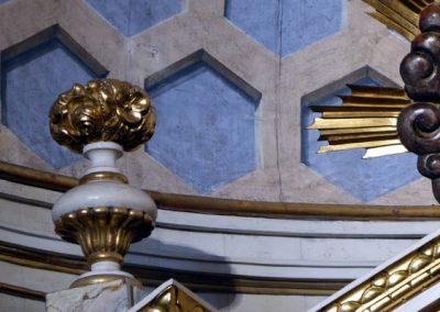 Retablo de la Inmaculada (Bermeo) casetones