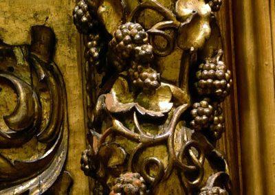 Retablo del Cristo de la Villa (Bilbao) dorado
