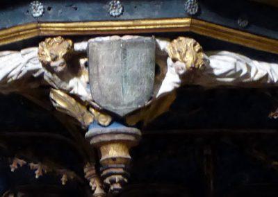 Retablo de San Pedro (Orduña) escudo