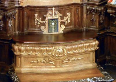 Retablo de San Crispín y San Crispiniano (Bilbao) sagrario