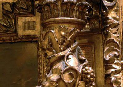 Retablo de San Juan Evangelista (Bilbao) columnas