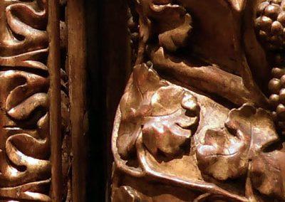 Retablo de la Soledad (Bilbao) columnas