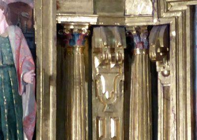 Retablo Mayor de la Asunción (Güeñes) pilastras