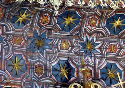 Retablo Mayor de Santa María (Lekeitio) estrellas