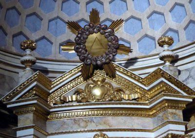 Retablo de San Juan Bautista (Bermeo) gloria