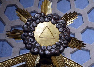 Retablo de la Virgen del Rosario (Bermeo) gloria
