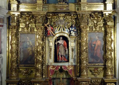 Retablo de San Juan Bautista (Bilbao) cuerpo principal