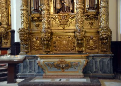 Retablo Santa Teresa de Ávila (Markina - Xemein) candelieri
