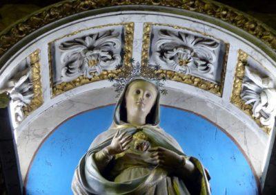 Retablo Lateral del Corazón de María (Orduña) pintada