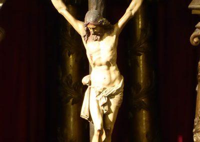 Retablo San Nicolás de Bari (Bilbao) Cristo
