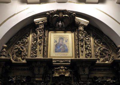 Retablo de la Virgen del Carmen (Bilbao) ático