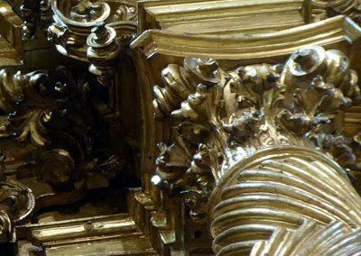Retablo Lateral de San José (Markina - Xemein) capiteles