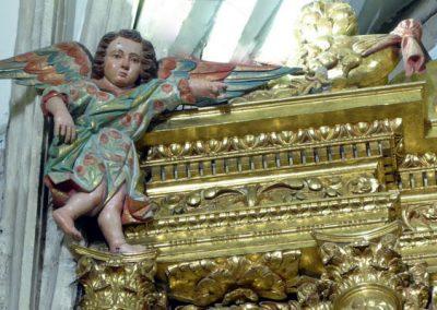 Retablo Mayor de San Juan Bautista (Gordexola) ángeles