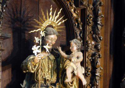 Retablo Berriz esculturas