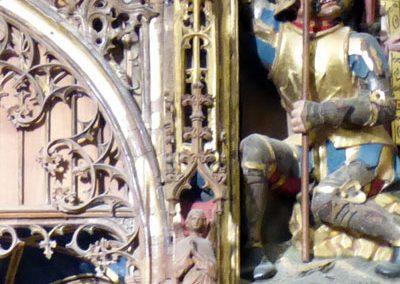 Retablo de San Pedro (Orduña) figurillas