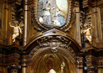 Retablo de San Blas (Bilbao) mazonerías
