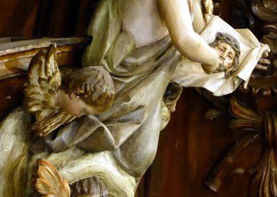 Retablo de la Piedad (Bilbao) ángel