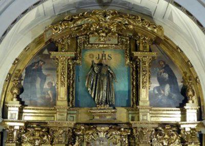 Retablo de San Juan Bautista (Bilbao) ático