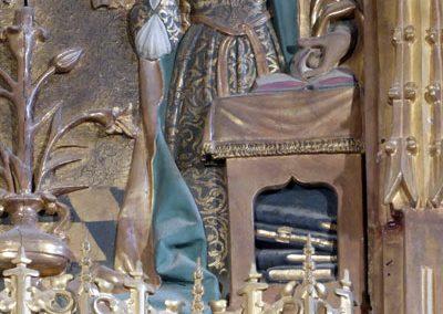Retablo Mayor (Larrabetzu) mazoneria
