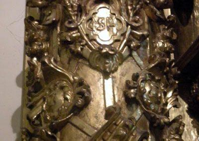 Retablo Lateral de San José (Markina - Xemein) candelieri