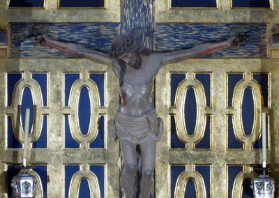 Retablo Durango crucifijo