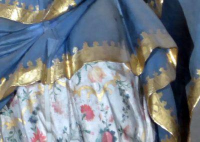 Retablo Mayor de Santiago Apóstol (Ermua) ropas