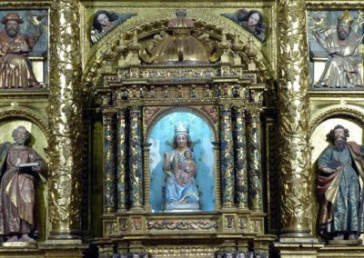 Retablo Mayor de San Juan Bautista (Gordexola) templete