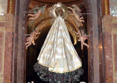 Santuario de Santa María de la Antigua (Orduña) camarin
