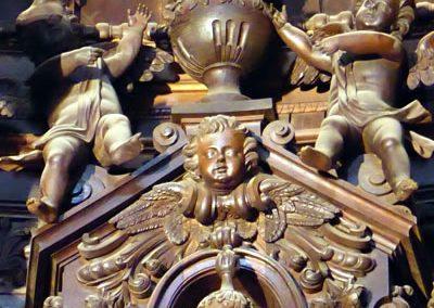 Retablo Mayor de Santiago Apóstol (Ermua) decoración