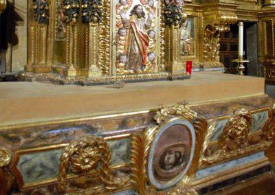 Retablo Mayor de San Juan Bautista (Gordexola) cabeza