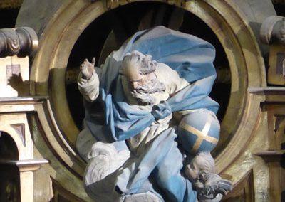 Retablo San Nicolás de Bari (Bilbao) Padre eterno