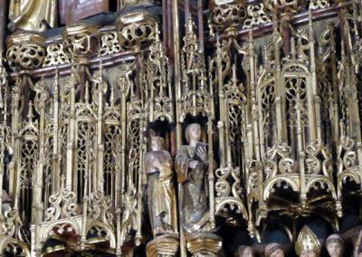 Retablo Mayor de Santa María (Lekeitio) dorado