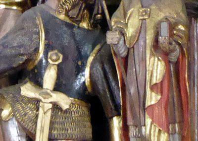 Retablo Mayor de Santa María (Lekeitio) telas