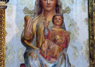 Retablo Mayor de San Juan Bautista (Gordexola) virgen
