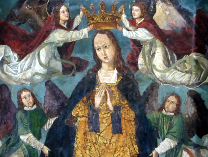 Advocación Retablo Asunción Nuestra Señora (Zeanuri)