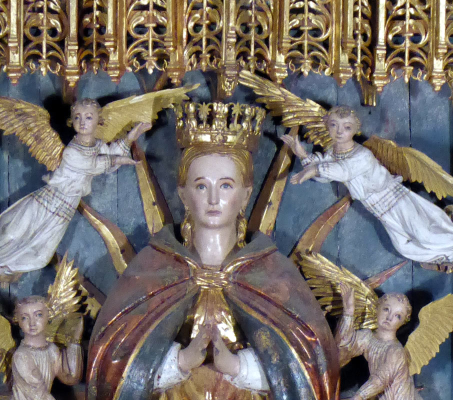 Advocación Retablo Asunción Santa María (Markina - Xemein)