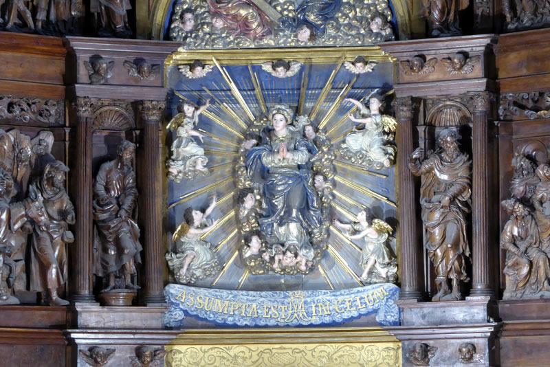 Advocación Retablo Mayor de la Asunción de Nuestra Señora (Portugalete)
