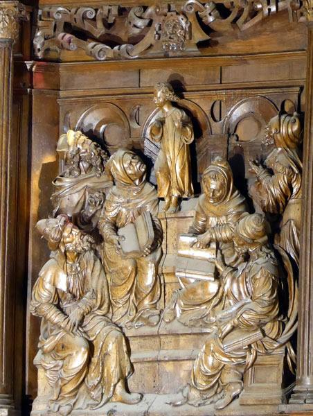 Cristo entre los doctores.