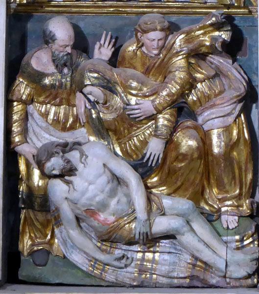 Llanto sobre Cristo muerto.