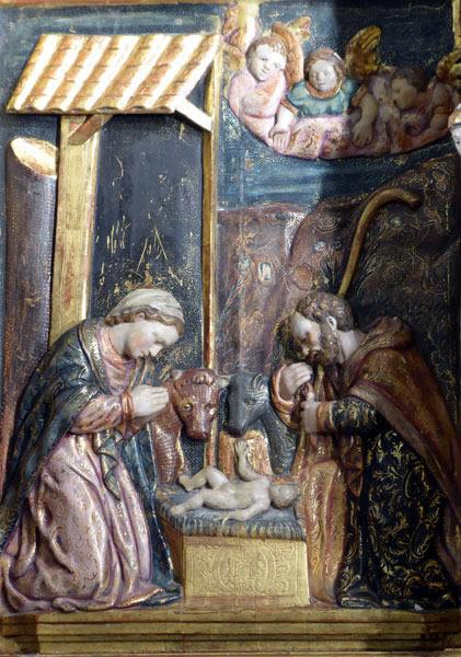 Nacimiento de Jesús.