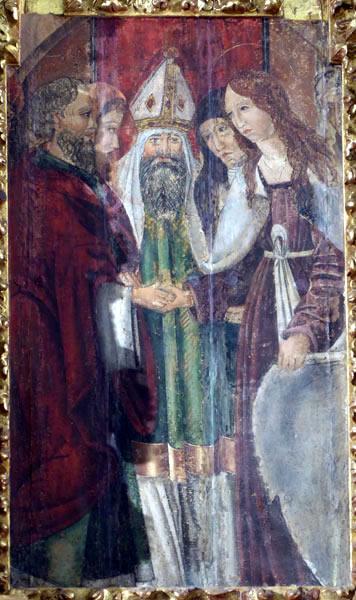 Desposorios de María y José.