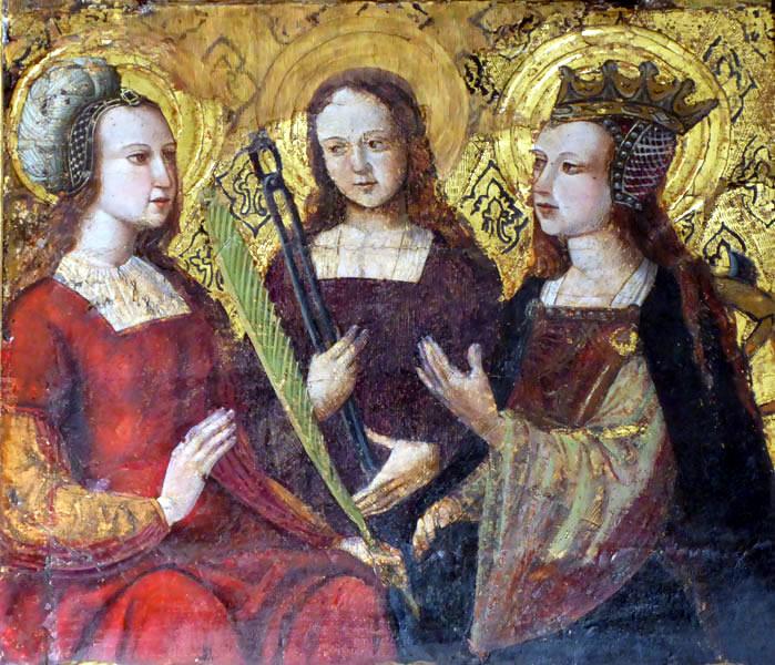 Tres santas.