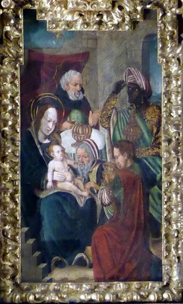 Adoración de los Reyes Magos o Epifanía.