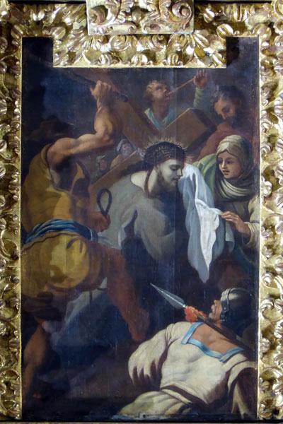 Jesús Camino del Calvario.