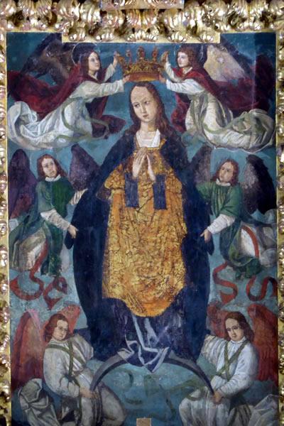 Asunción y coronación de la Virgen.