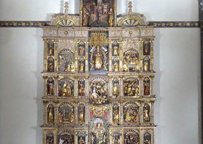 Retablo Asunción Santa María (Markina - Xemein)