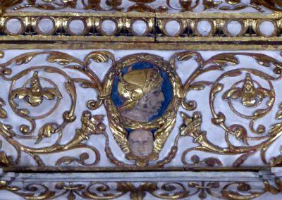 Retablo Asunción Santa María (Markina - Xemein) policromía