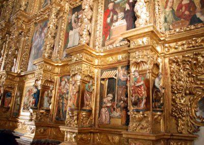Retablo Asunción Nuestra Señora (Zeanuri) banco