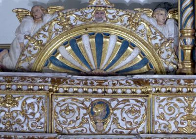 Retablo Asunción Santa María (Markina - Xemein) decoración