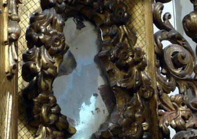 Retablo del Sagrado Corazón de Jesús (Bilbao) espejos